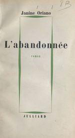 L'abandonnée  - Janine Oriano