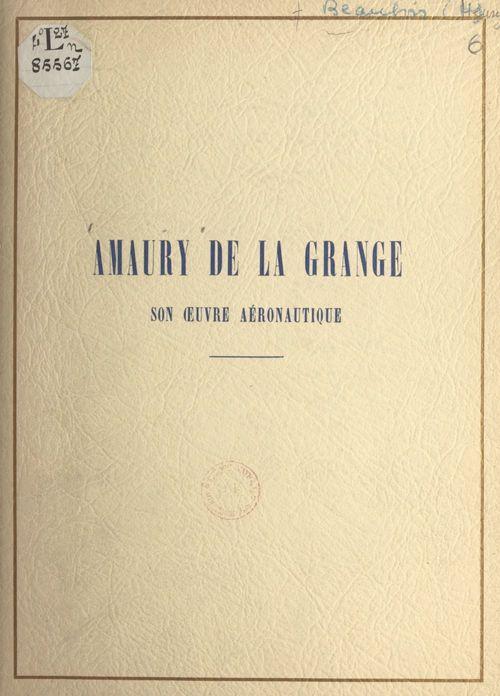 Amaury de La Grange