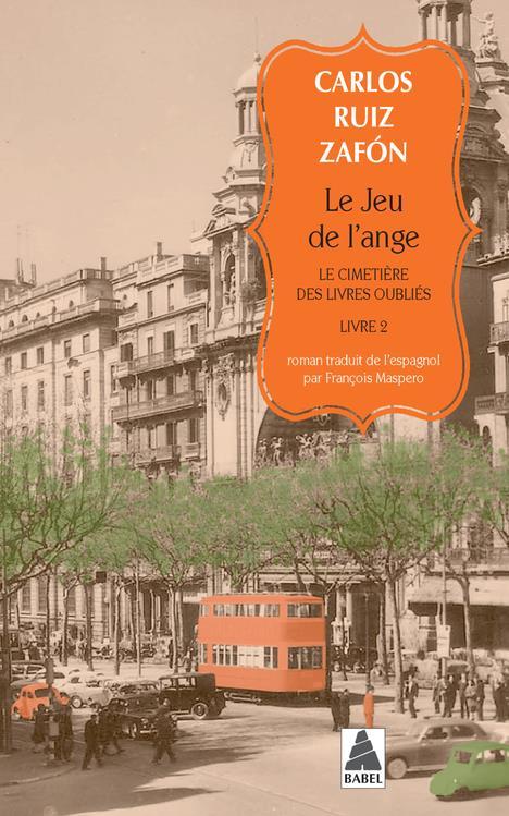 Le Cimetiere Des Livres Oublies T.2 ; Le Jeu De L'Ange