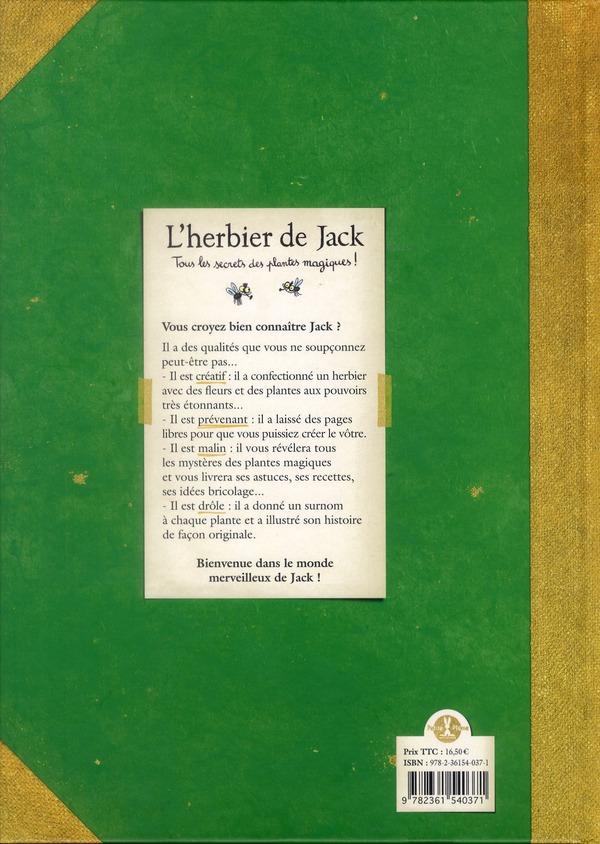 L'herbier de Jack ; tous les secrets des plantes magiques !
