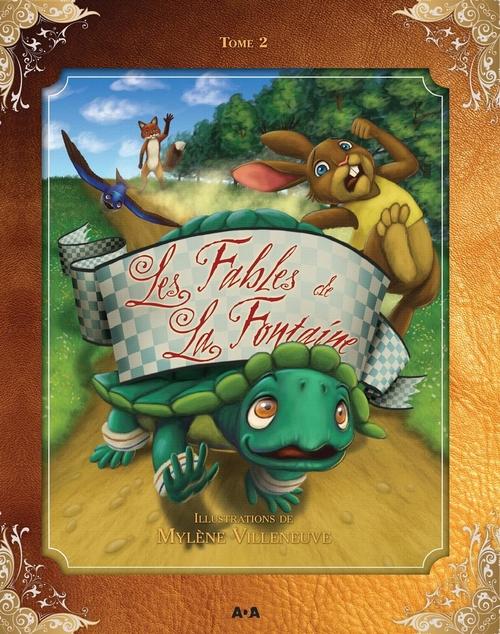 Les fables de La Fontaine t.2