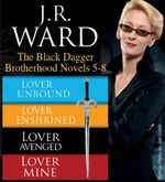 Vente EBooks : J.R. Ward The Black Dagger Brotherhood Novels 5-8  - Ward J R