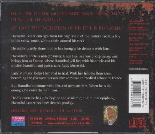 Hannibal rising - unabridged edition in 6 cds