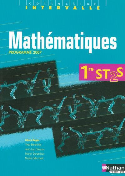 Mathématiques ; 1re ST2S ; livre de l'élève (édition 2007)