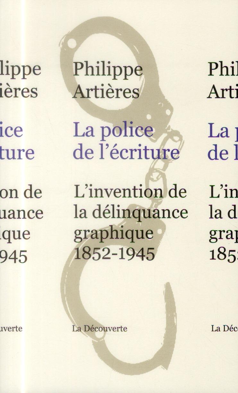 La police de l'écriture