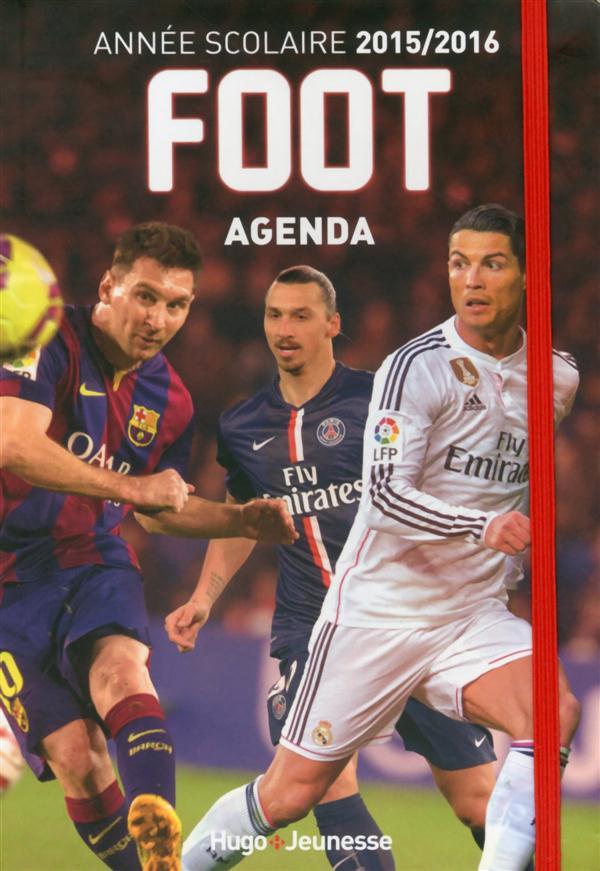 Foot ; Agenda ; L'Annee Scolaire 2015-2016