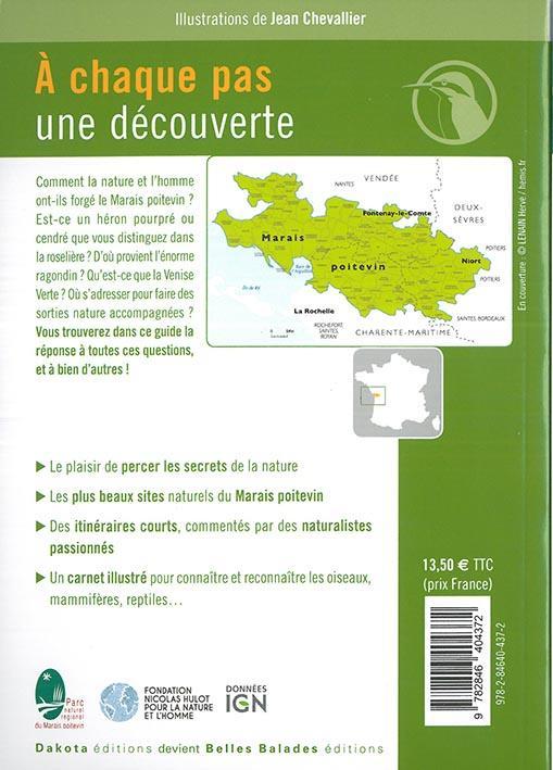 BALADES NATURE ; dans le parc naturel régional du Marais poitevin