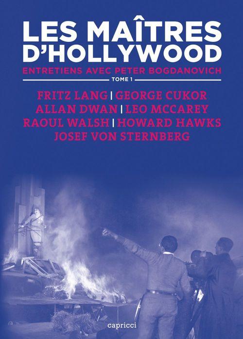 les maîtres d'Hollywood t.1 ; entretiends avec Peter Bogdanovich