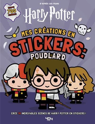 Harry Potter ; mes créations en stickers : Poudlard