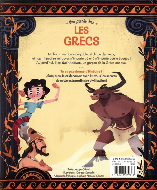 Nathan explore le temps ; une journée chez les Grecs