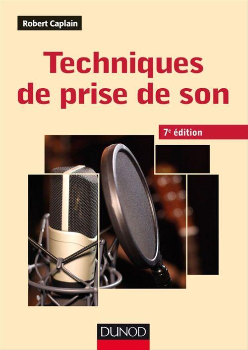 Techniques de prise de son (7e édition)