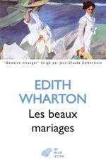 Vente Livre Numérique : Les Beaux Mariages  - Edith Wharton