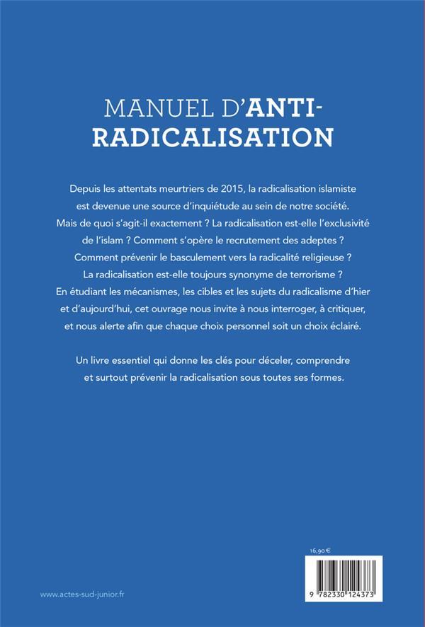 manuel d'anti-radicalisation ; comprendre, déceler, prévenir