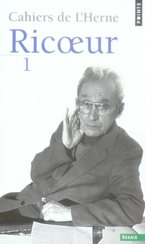 cahiers de l'Herne Ricoeur t.1
