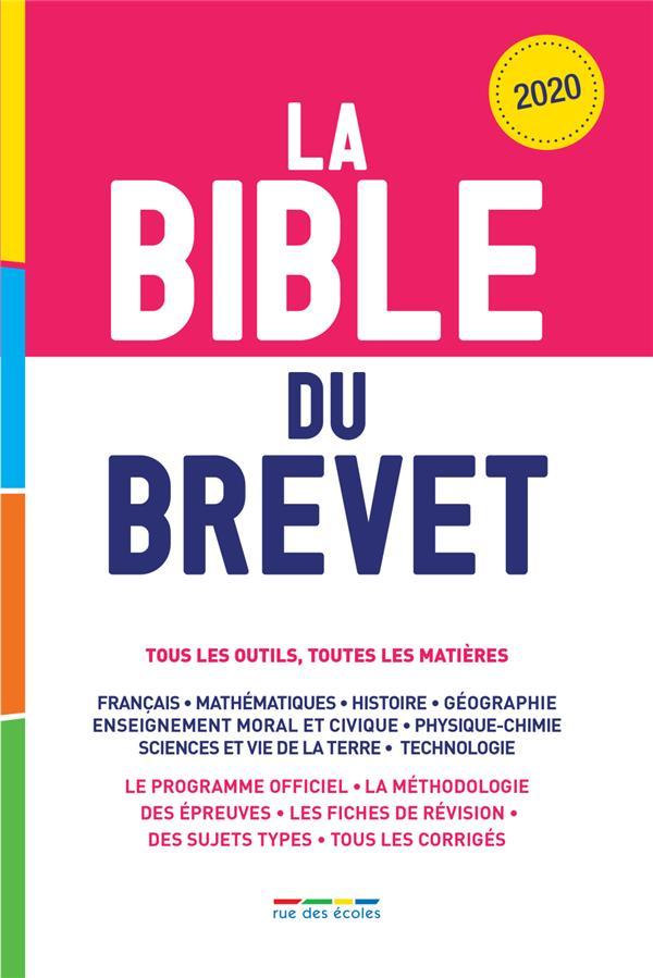 La bible du brevet ; tous les outils, toutes les matières (édition 2020)