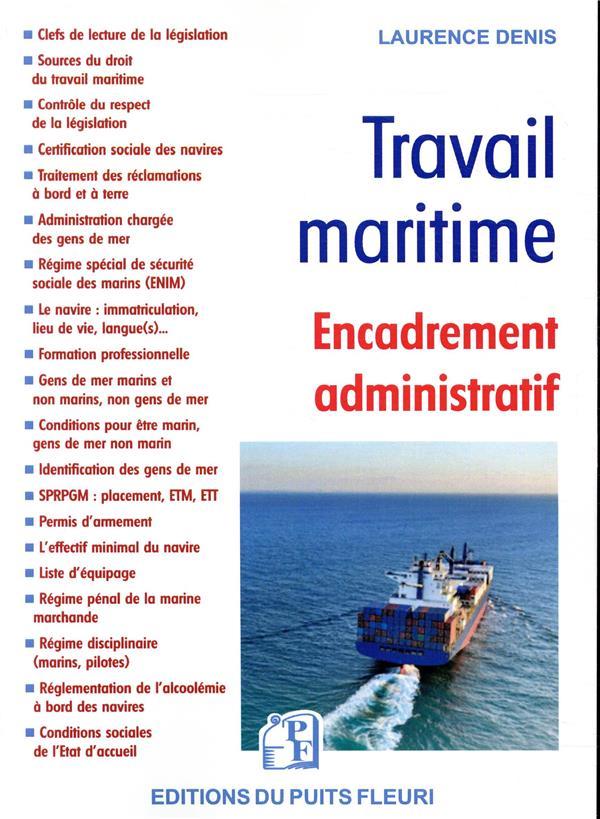 travail maritime ; encadrement administratif