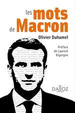 Vente EBooks : Les mots de Macron  - Olivier Duhamel