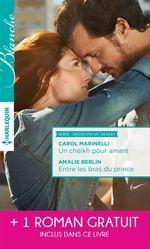 Vente Livre Numérique : Un cheikh pour amant - Entre les bras du prince - Un mystérieux patient  - Amalie Berlin - Judy Duarte - Carol Marinelli