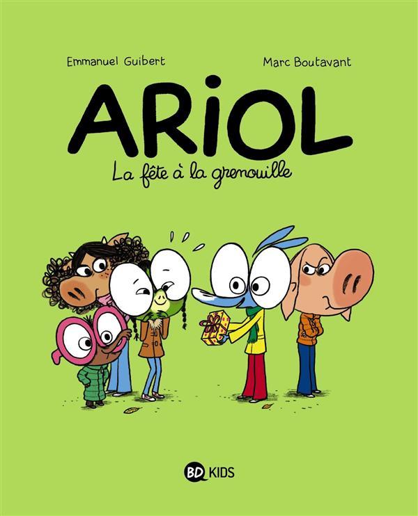 Boutavant Marc - ARIOL, TOME 11 - LA FETE A LA GRENOUILLE