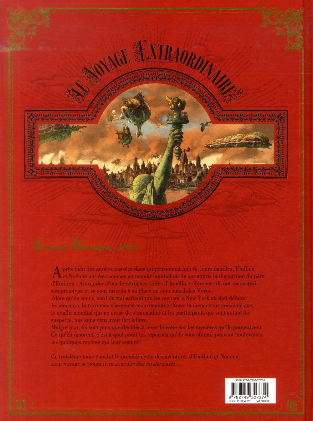 Le voyage extraordinaire t.3 ; le trophée Jules Verne t.3
