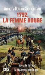 Vente Livre Numérique : 1792, la femme rouge  - Anne Villemin-Sicherman