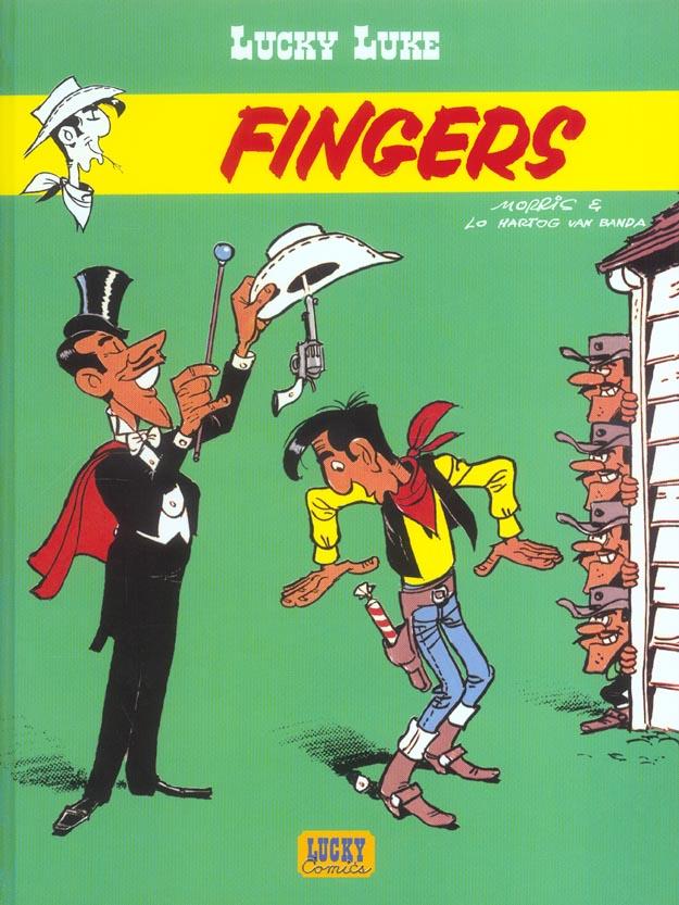 Lucky Luke T.52 ; Fingers