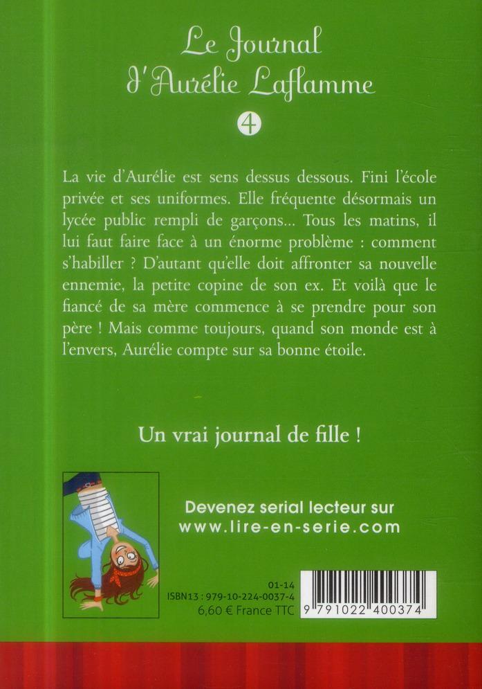 Le journal d'Aurélie Laflamme T.4 ; le monde à l'envers