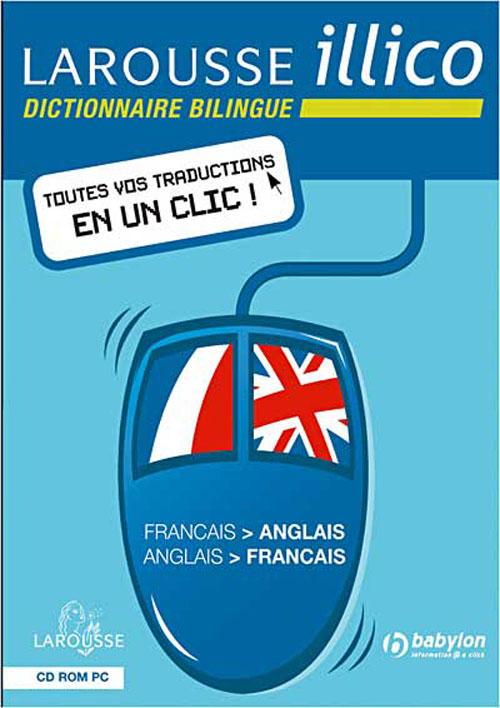 Larousse illico français-anglais dvd