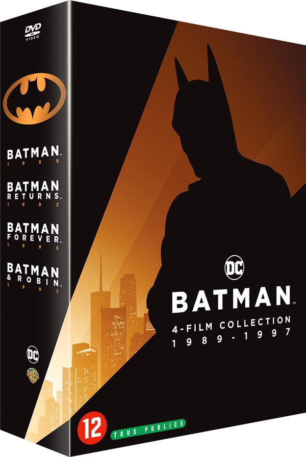 Batman - 4 films collection 1989-1997