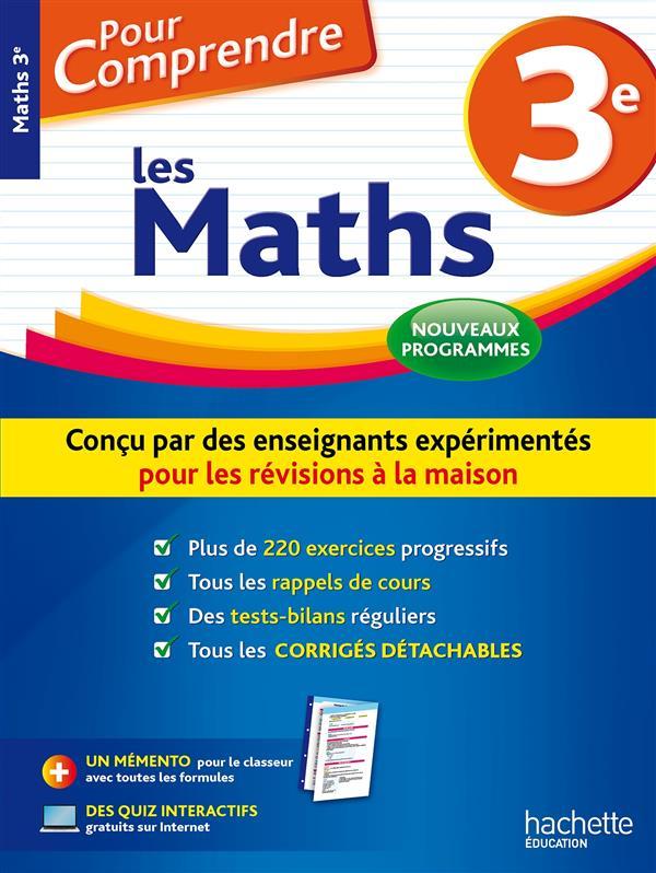 pour comprendre les maths ; 3e