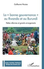 Vente EBooks : La bonne gouvernance au Rwanda et au Burundi  - Guillaume Nicaise
