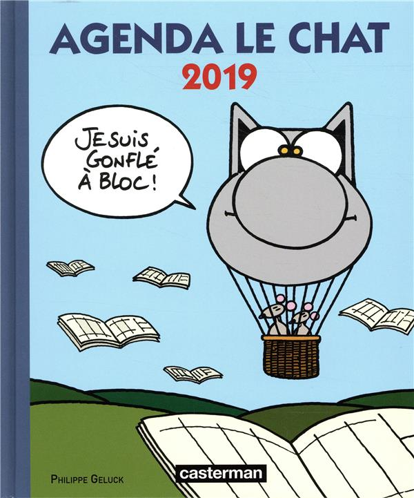 AGENDA LE CHAT 2019 GELUCK PHILIPPE