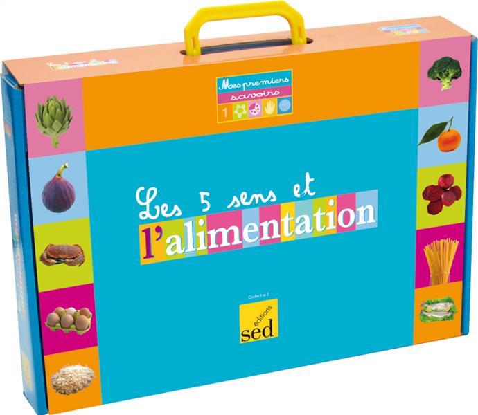 Les 5 Sens Et L'Alimentation - 6 Albums + Fichier + Posters