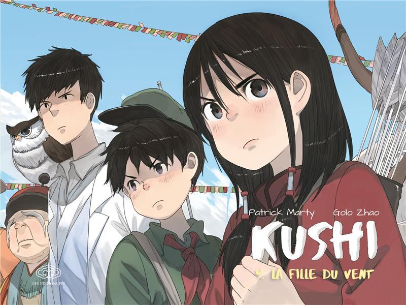 Kushi T.4 ; la fille du vent