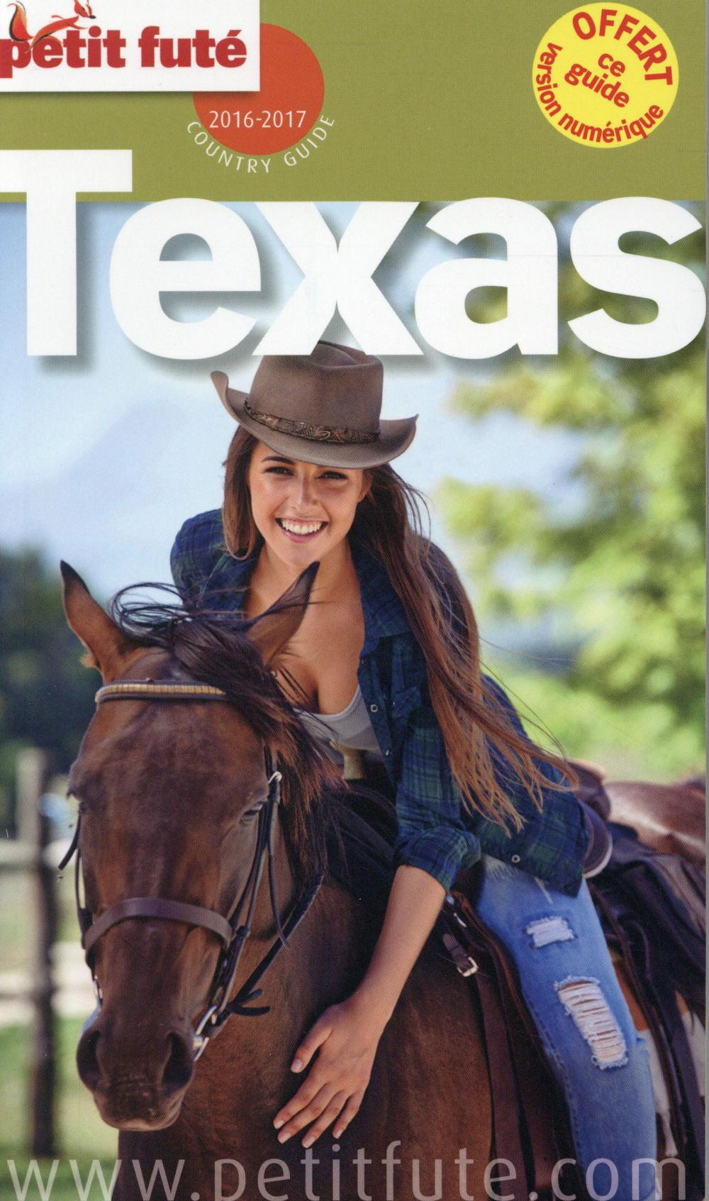 GUIDE PETIT FUTE ; COUNTRY GUIDE ; Texas (édition 2016)