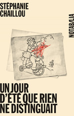 Vente Livre Numérique : Un jour d´été que rien ne distinguait  - Stéphanie Chaillou