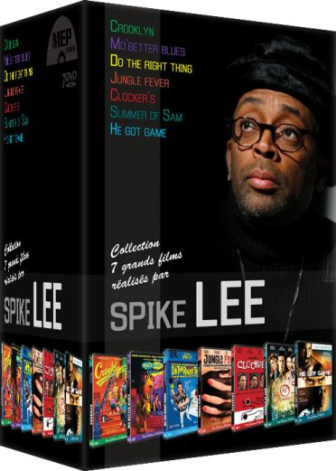 Spike Lee - Coffret 7 films : Crooklyn + Mo' Better Blues + Do the Right Thing + Jungle Fever + Clockers + Summer of Sam + He Got Game