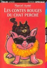 Couverture de Les contes rouges du chat perché
