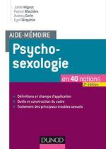 Vente Livre Numérique : Aide-mémoire - Psychosexologie  - Cyril Tarquinio - Joëlle Mignot - Patrick Blachère - Audrey Gorin