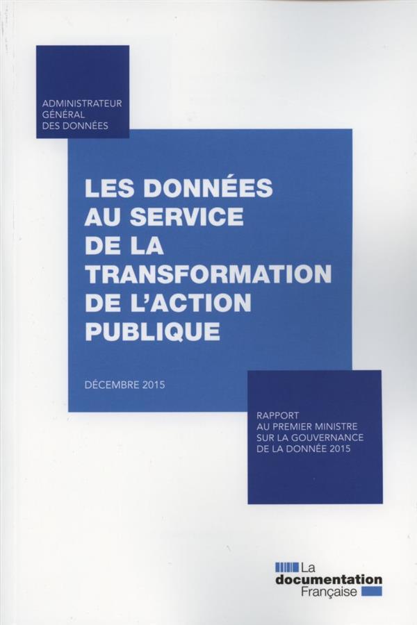 Les données au service de la transformation de l'action publique