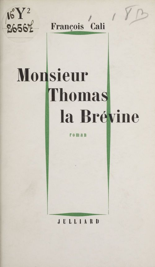 Monsieur Thomas la Brévine