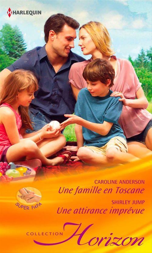 Vente Livre Numérique : Une famille en Toscane - Une attirance imprévue  - Caroline Anderson
