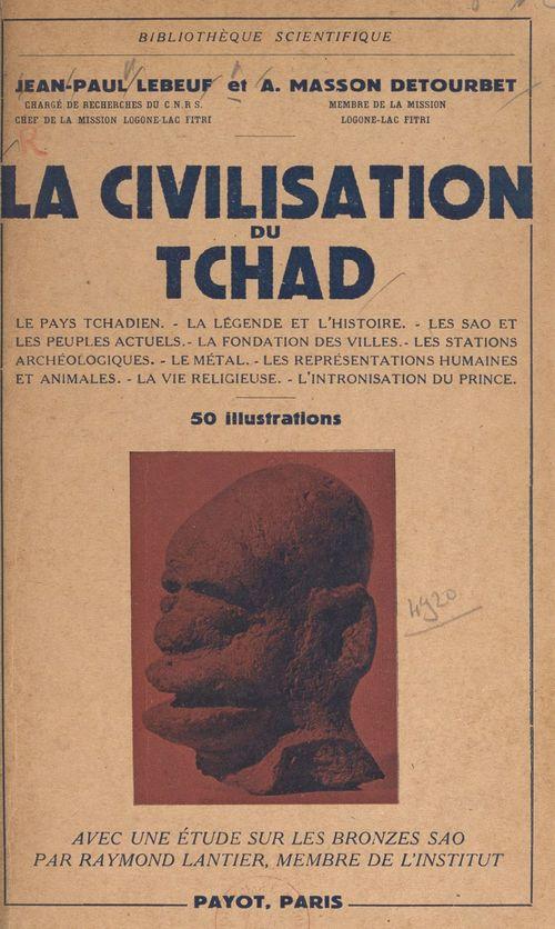 La civilisation du Tchad