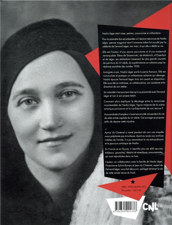 Nadia Léger ; l'histoire extraordinaire d'une femme de l'ombre