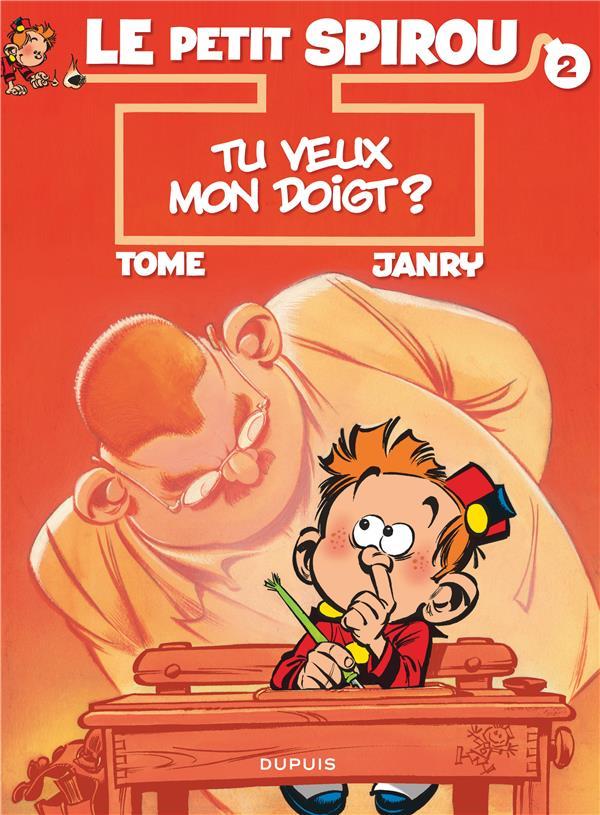 Le Petit Spirou T.2 ; Tu Veux Mon Doigt ?