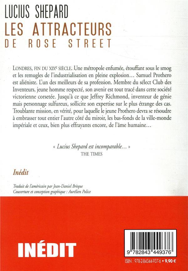 Les attracteurs de Rose Street