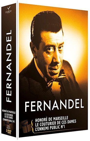 Fernandel - Coffret 3 films : L'ennemi public n° 1 + Le couturier de ces dames + Honoré de Marseille