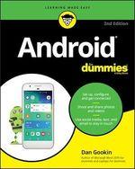Vente Livre Numérique : Android For Dummies  - Dan Gookin