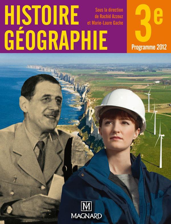 Mon Cahier D'Activites ; Histoire-Geographie ; 3e
