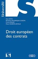 Vente EBooks : Droit européen et comparé des contrats  - Hein Kötz - Bénédicte Fauvarque-Cosson